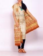 Online Tussar Silk Salwar Kameez_49