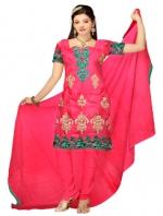 Online Tussar Silk Salwar Kameez _1