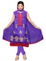 Online Tussar Silk Salwar Kameez _2