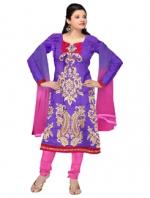 Online Tussar Silk Salwar Kameez _3