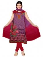 Online Tussar Silk Salwar Kameez _6